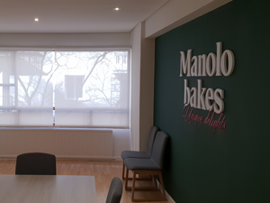 Estores enrollables polyscreen en Manolo Bakes